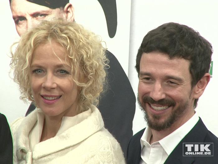 """Katja Riemann und Oliver Berben auf der Premiere von """"Er ist wieder da"""" in Berlin"""
