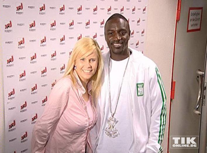 Rapper Akon Und Michaela Schaffrath Das Traumpaar Redet Klartext