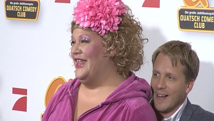 Cindy aus Marzahn und Oliver Pocher (Foto: HauptBruch GbR)