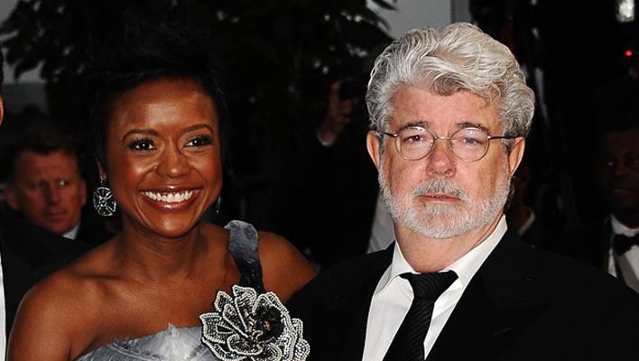 George Lucas und Melody Hobson