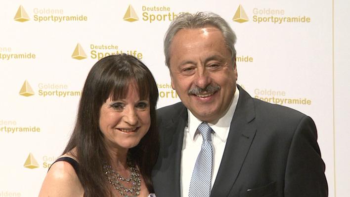 Wolfgang Stumph und seine Frau (Foto: HauptBruch GbR)