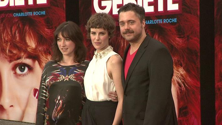 Charlotte Roche, Carla Juri und David Wnendt (Foto: HauptBruch GbR)