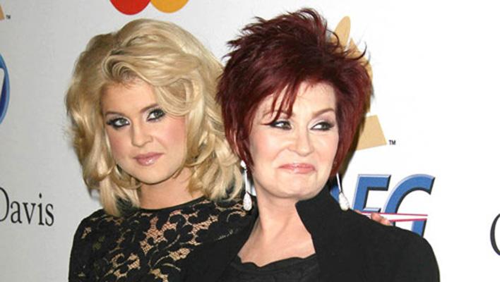 Kelly und Sharon Osbourne
