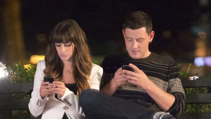 Lea Michele und Cory Monteith