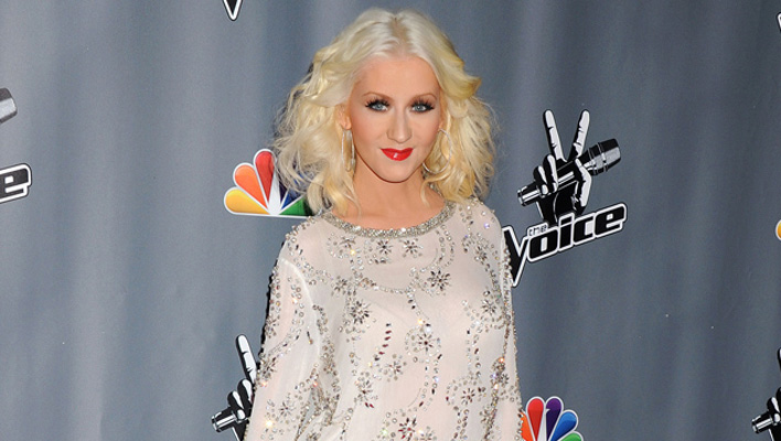 "Christina Aguilera ""The Voice""- Party"
