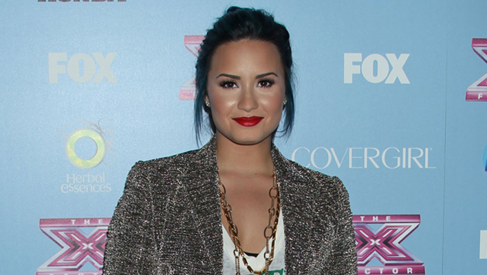 Demi Lovato X-Factor Party