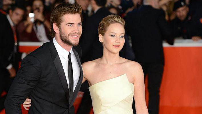 Jennifer Lawrence & Liam Hemsworth
