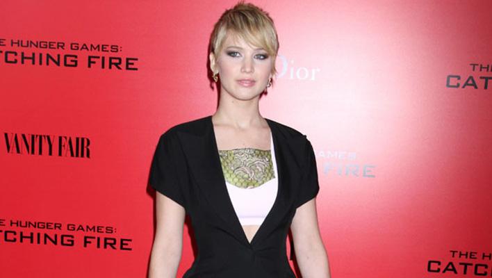 Jennifer Lawrence Pixie-Cut