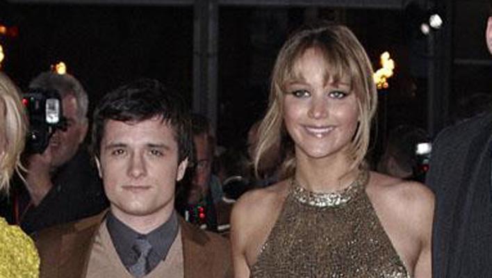 Jennifer Lawrence und Josh Hutcherson