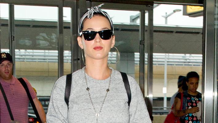 Katy Perry Flughafen