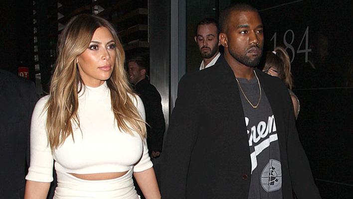 Kim Kardashian & Kanye West