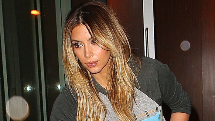 Kim Kardashian unterwegs mit Norht West