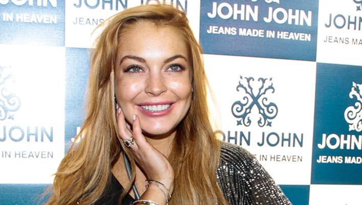 Lindsay Lohan rote Haare
