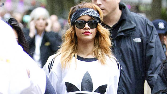 Rihanna Adidas Pullover