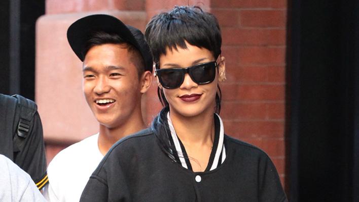 Rihanna mit Vokuhila