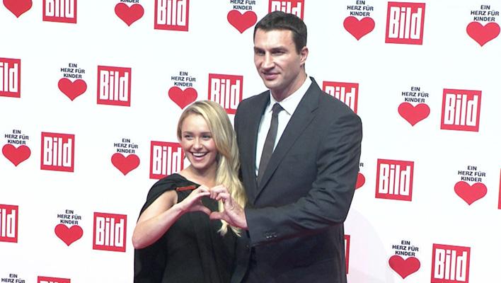Hayden Panettiere und Wladimir Klitschko (Foto: HauptBruch GbR)
