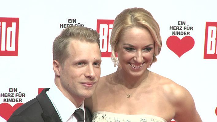 Oliver Pocher und Sabine Lisicki (Foto: HauptBruch GbR)