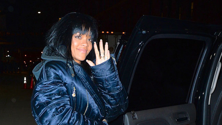 Rihanna neue Frisur