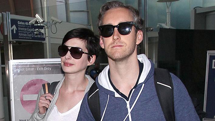 Anne Hathaway & Ehemann Adam Shulman
