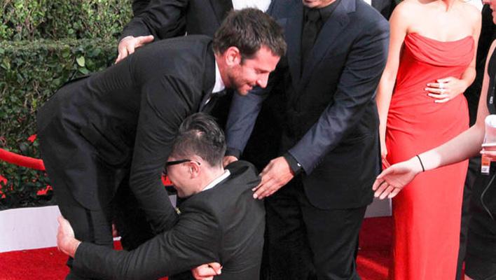 Bradley Cooper & Grammy Crasher