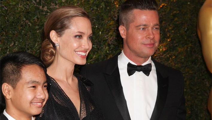 Angelina Jolie, Brad Pitt & Sohn Maddox