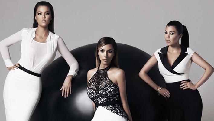 Khloe, Kim & Kourtney Kardashian