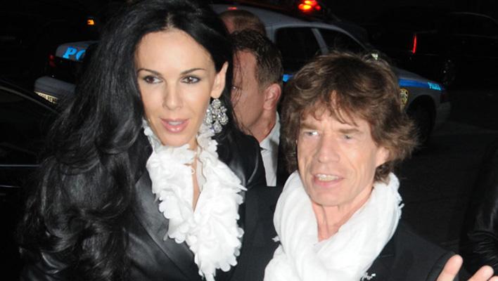 L'Wren Scott & Mick Jagger