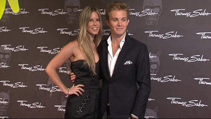 Nico Rosberg & Vivian Sibold (Foto: HauptBruch GbR)