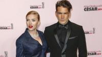 Scarlett Johansson & Romain Dauriac