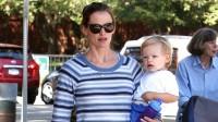Jennifer Garner & Sohn Samuel