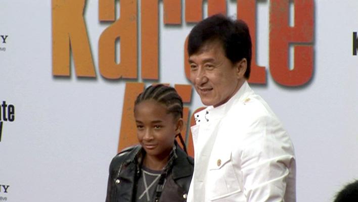 Jaden Smith und Jackie Chan (Foto: HauptBruch GbR)