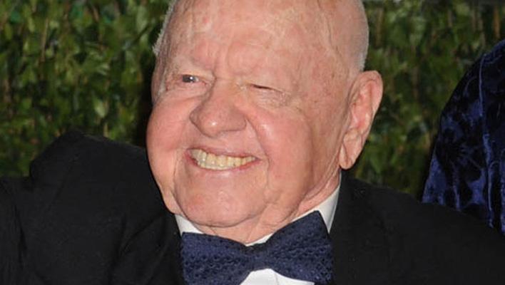 Mickey Rooney: Hollywood trauert um Schauspiellegende ...  Mickey Rooney: ...