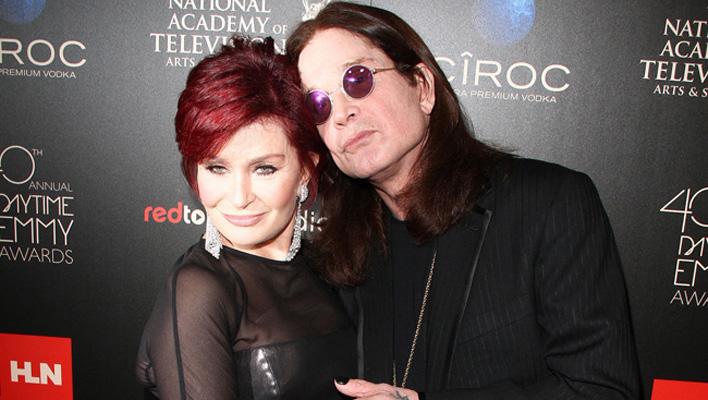 Ozzy & Sharon Osbourne