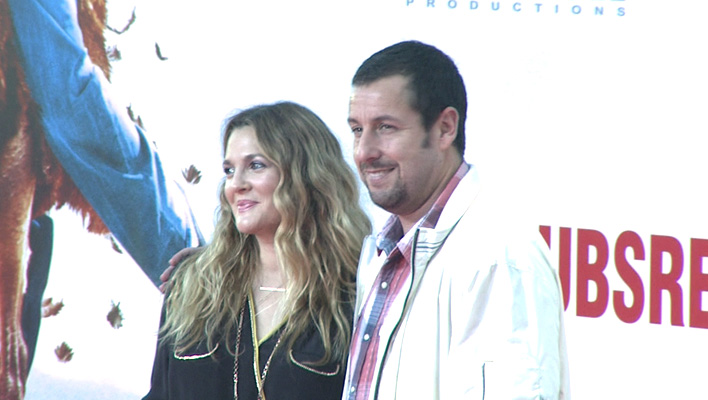 Drew Barrymore und Adam Sandler (Foto: HauptBruch GbR)