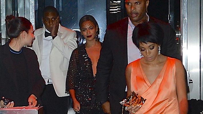 Solange Knowles, Jay Z, Beyoncé