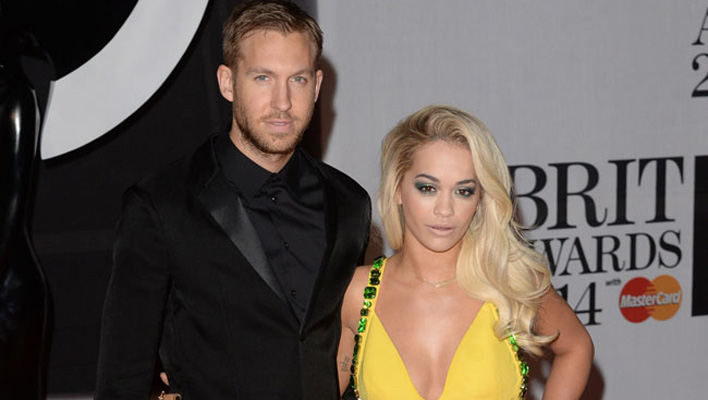 Rita Ora und Calvin Harris