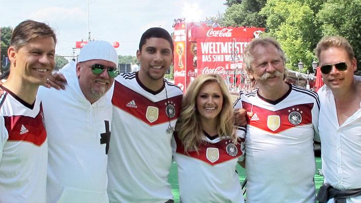 Helene Fischer, Andreas Bourani, Die Höhner, DJ Ötzi (Foto: Universal Music)