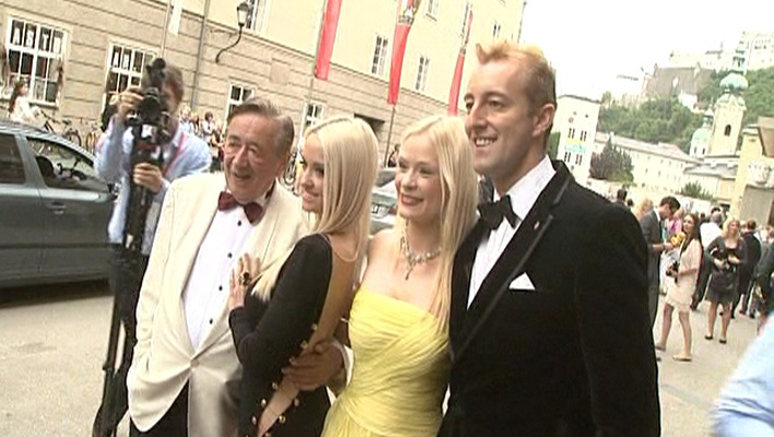 Richard Lugner, Cathy Schmitz, Katharina Boe, Mario-Max zu Schaumburg-Lippe (Foto: HauptBruch GbR)