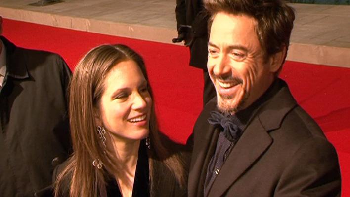 Robert Downey Jr. und seine Frau Susan (Foto: HauptBruch GbR)