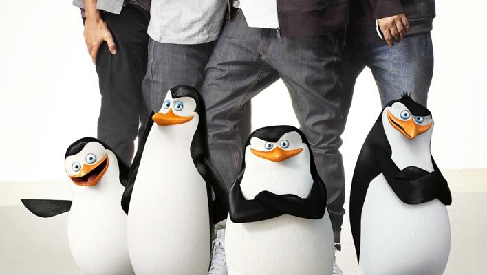 Die Pinguine und die Fantastischen Vier (Foto:  © Alexander Gnädinger & © 2014 DreamWorks Animation L.L.C.)