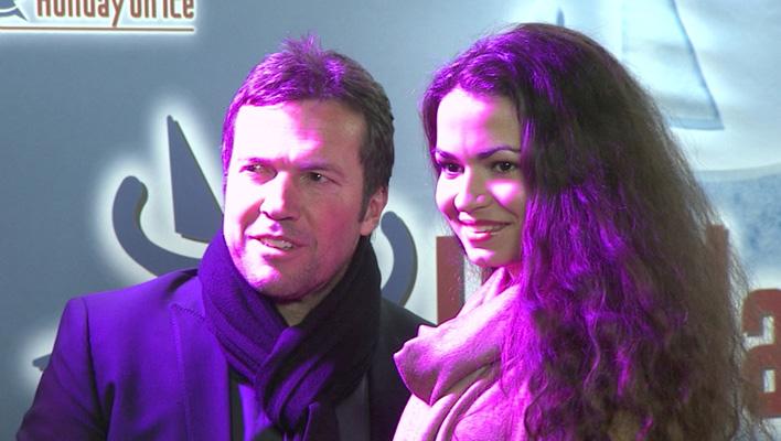 Lothar Matthäus und Anastasia Klimko (Foto: HauptBruch GbR)