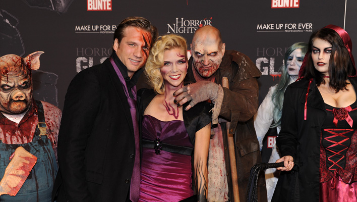 Tanja Szewczenko bei der Horror Glam Night (Foto: Europa-Park GmbH & Co Mack KG)