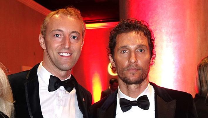 Mario-Max zu Schaumburg-Lippe und Matthew McConaughey (Foto_ Mario-Max zu Schaumburg-Lippe)
