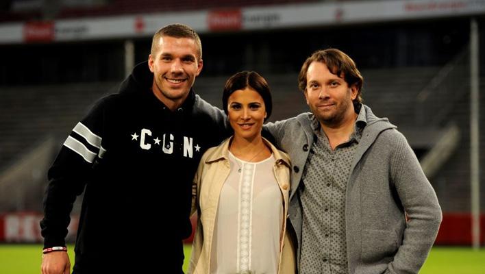 Lukas Podolski, Aylin Tezel und Christian Ulmen (Foto: ConradFilm/ Bavaria Pictures/ Bernd Spauke)