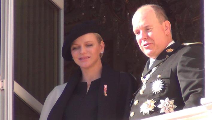 Fürst Albert II und Fürstin Charlène von Monaco