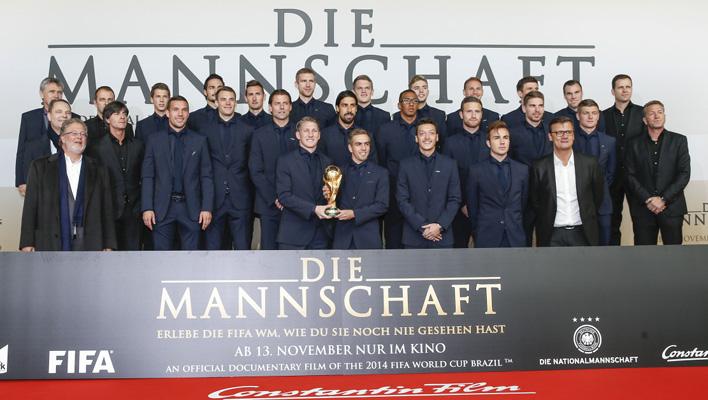 Die Mannschaft Premiere (Foto: 2014 Constantin Film Verleih GmbH)