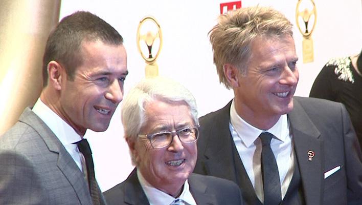 Kai Pflaume, Frank Elstner, Jörg Pilawa (Foto: HauptBruch GbR)
