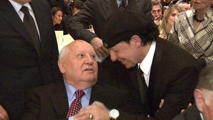Michail Gorbatschow und Klaus Meine (Foto: HauptBruch GbR)