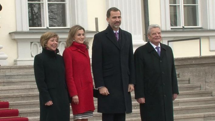 König Felipe, Königin Letizia, Joachim Gauck und Frau Schadt (Foto: HauptBruch GbR)