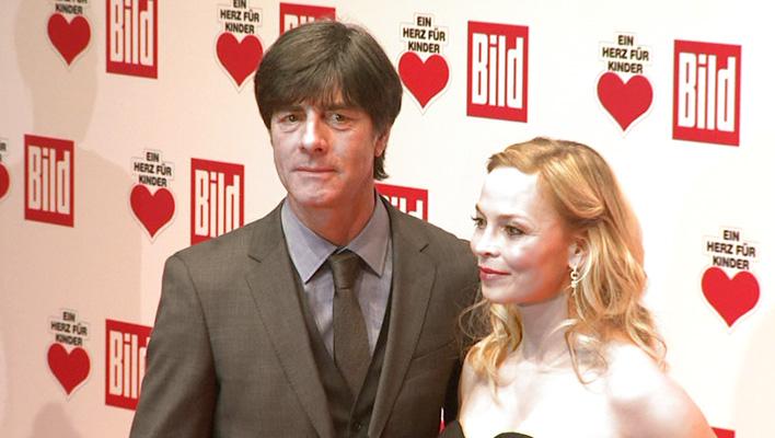 Joachim Löw und Regina Halmich (Foto: HauptBruch GbR)